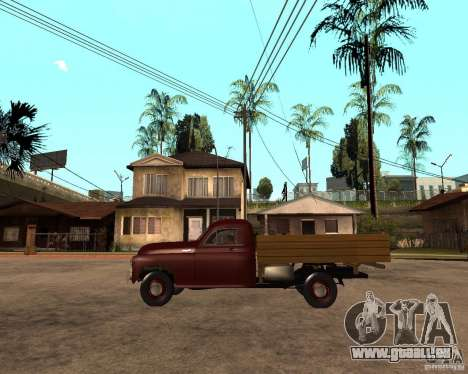 Gaz M-20 Pobeda PickUp pour GTA San Andreas laissé vue