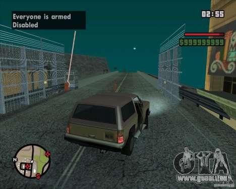 CJ-maire pour GTA San Andreas huitième écran