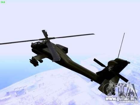 HD Hunter pour GTA San Andreas laissé vue