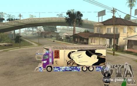 ART TRACK für GTA San Andreas linke Ansicht