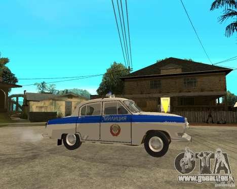 Gaz-21r GAI pour GTA San Andreas laissé vue