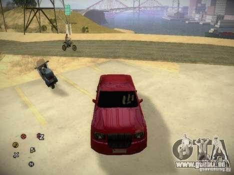 Chrysler 300C pour GTA San Andreas vue arrière