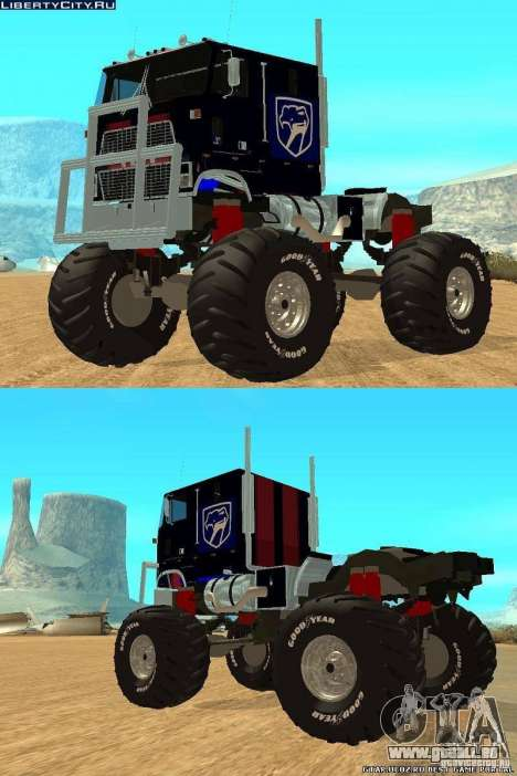 Ford CLT Monster Truck für GTA San Andreas