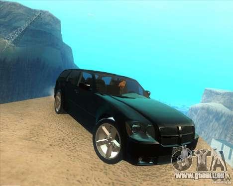 Dodge Magnum RT 2008 v.2.0 pour GTA San Andreas vue de droite
