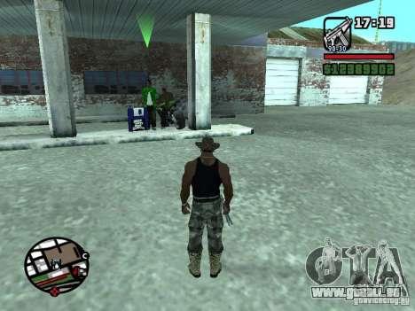 Gun Seller RUS pour GTA San Andreas cinquième écran