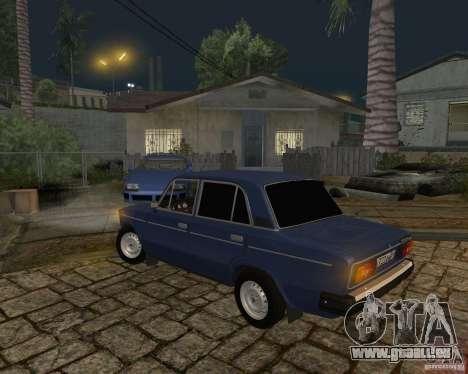 Vaz 21063 pour GTA San Andreas vue arrière