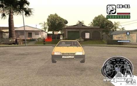 VAZ 21093i pour GTA San Andreas laissé vue