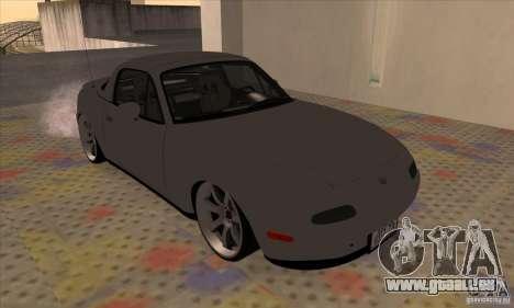 Mazda MX-5 pour GTA San Andreas laissé vue