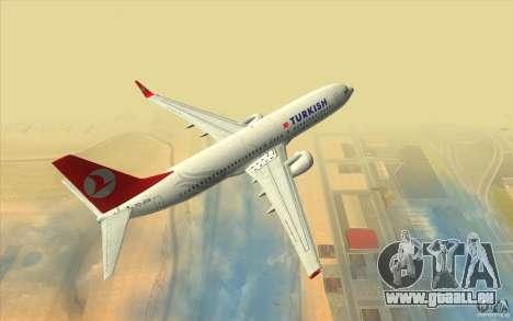 Boeing 737-800 THY pour GTA San Andreas