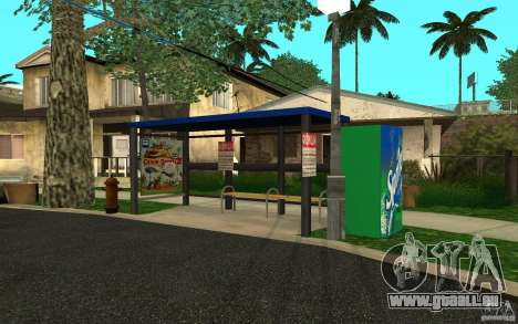 Neue Bushaltestelle für GTA San Andreas zweiten Screenshot