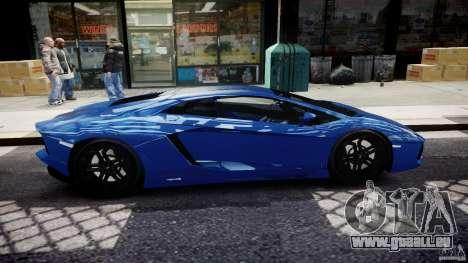 Lamborghini Aventador LP700-4 2011 [EPM] pour GTA 4 est un côté
