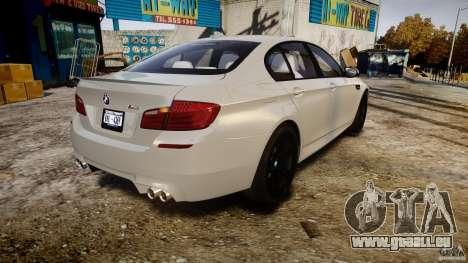 BMW M5 F10 2012 für GTA 4 Seitenansicht