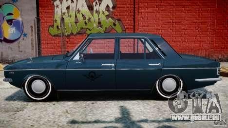 Peykan 1348 1970 pour GTA 4 vue de dessus