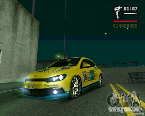 Volkswagen Scirocco 2008 pour GTA San Andreas