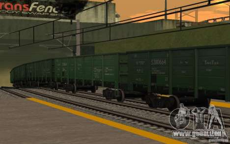 Eisenbahn mod II für GTA San Andreas zehnten Screenshot
