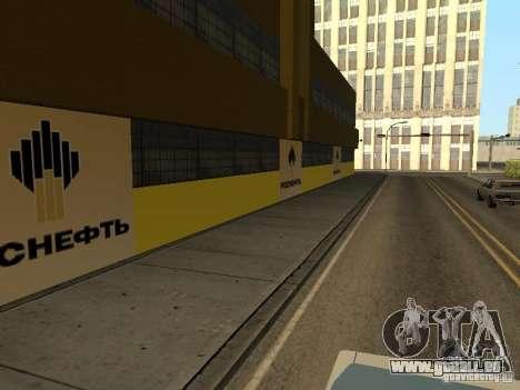 Nouvelles stations d'essence de textures pour GTA San Andreas quatrième écran