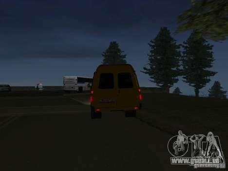 Gazelle-taxi für GTA San Andreas zurück linke Ansicht