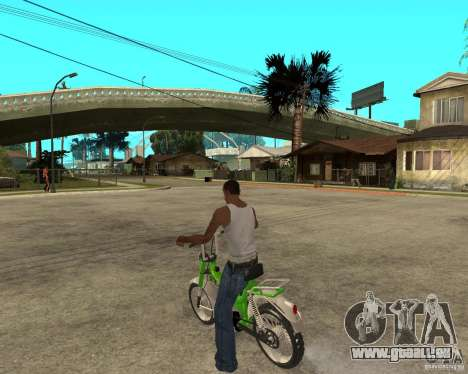 Mustang Mamba pour GTA San Andreas laissé vue