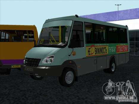 Golaz 3207 pour GTA San Andreas vue de droite