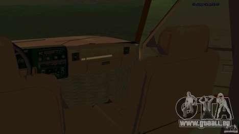 HD Huntley pour GTA San Andreas vue arrière