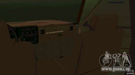HD Huntley für GTA San Andreas Rückansicht