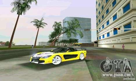 Mazda RX7 VeilSide für GTA Vice City zurück linke Ansicht