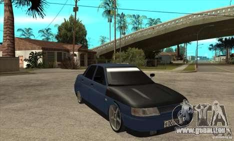 Vaz 2110 pour GTA San Andreas vue arrière