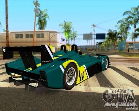 Caterham Lola SP300R pour GTA San Andreas laissé vue