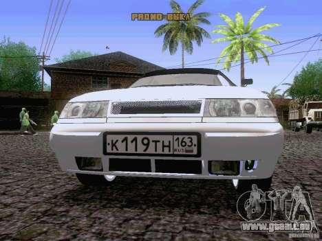 LADA 21103 Maxi für GTA San Andreas Innenansicht