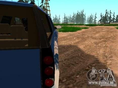 GMC Yukon Denali XL pour GTA San Andreas vue de côté