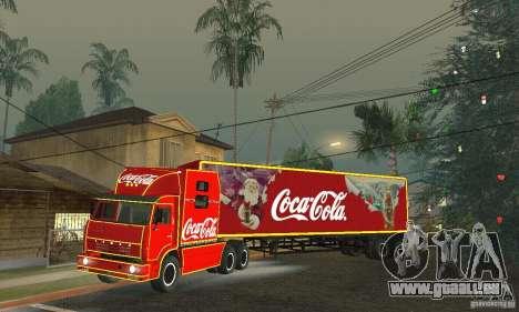 KAMAZ 54112 Noël pour GTA San Andreas