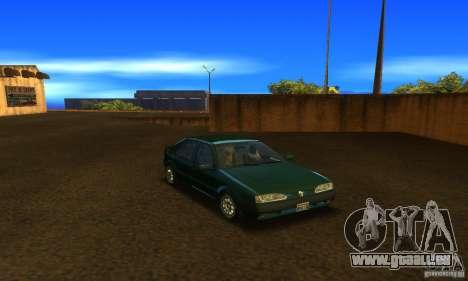 Renault 19 PHASE II pour GTA San Andreas vue arrière