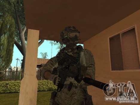M4A1 avec ACOG de CoD MW3 pour GTA San Andreas