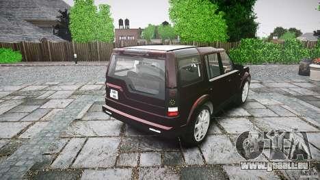 Land Rover Discovery 4 2011 pour GTA 4 est un côté