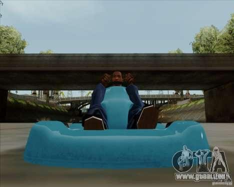 Kart pour GTA San Andreas vue de droite
