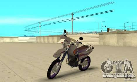 YAMAHA TT250R Raid für GTA San Andreas