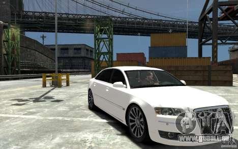 Audi A8L W12 Quattro pour GTA 4 Vue arrière