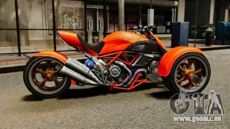 Ducati Diavel Reversetrike pour GTA 4 est une gauche