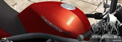 PCJ600 to Triumph StreeTTriple für GTA 4 linke Ansicht