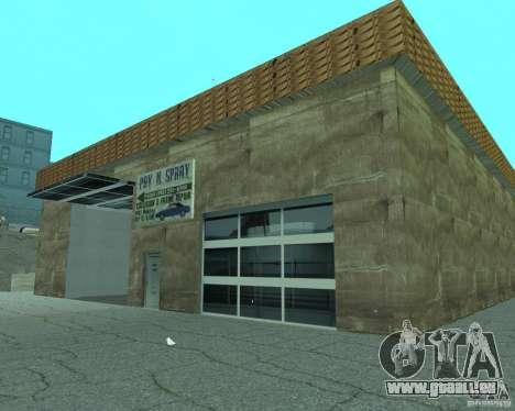 Nouveau Xoomer. nouvelle station-service. pour GTA San Andreas sixième écran