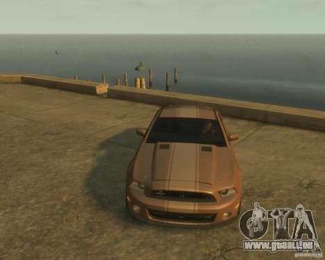 2011 Shelby GT500 Super Snake für GTA 4 Rückansicht