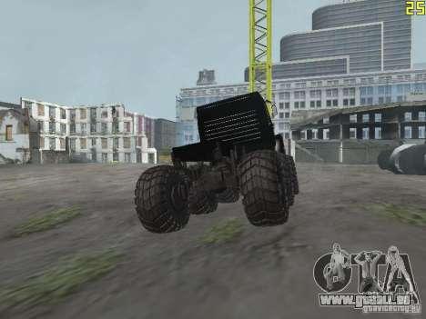 ZIL 497200 pour GTA San Andreas sur la vue arrière gauche