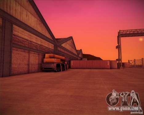 Portland pour GTA San Andreas cinquième écran