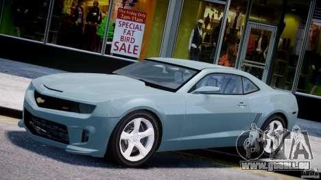 Chevrolet Camaro SS 2009 v2.0 pour GTA 4