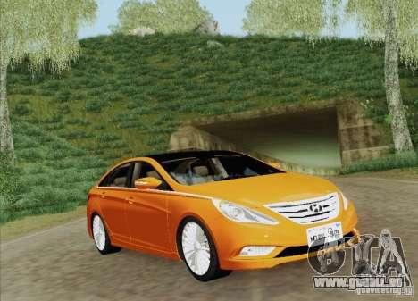 Hyundai Sonata 2012 pour GTA San Andreas moteur