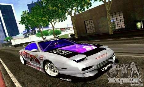 Nissan 150SX Drift pour GTA San Andreas laissé vue