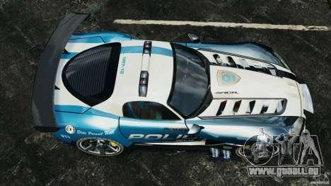 Dodge Viper SRT-10 ACR ELITE POLICE pour GTA 4 est un droit