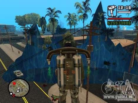 Tsunami pour GTA San Andreas troisième écran