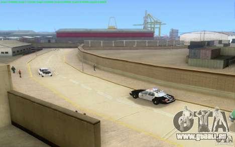 Routes en béton de Los Santos Beta pour GTA San Andreas douzième écran