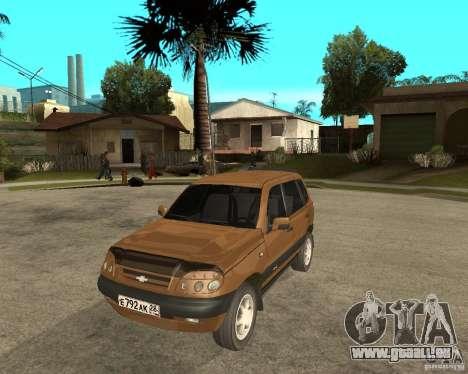 CHEVROLET NIVA Version 2.0 für GTA San Andreas